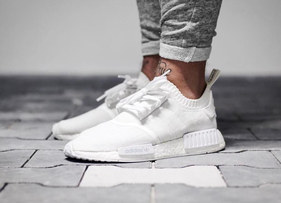 Adidas NMD R1 PK Triple White - @sbezzy00020022