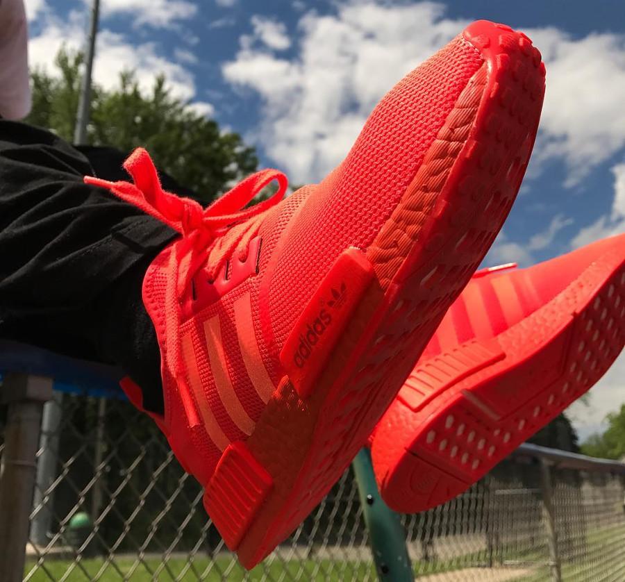 Adidas NMD R1 Triple Red - @aars_resellers_