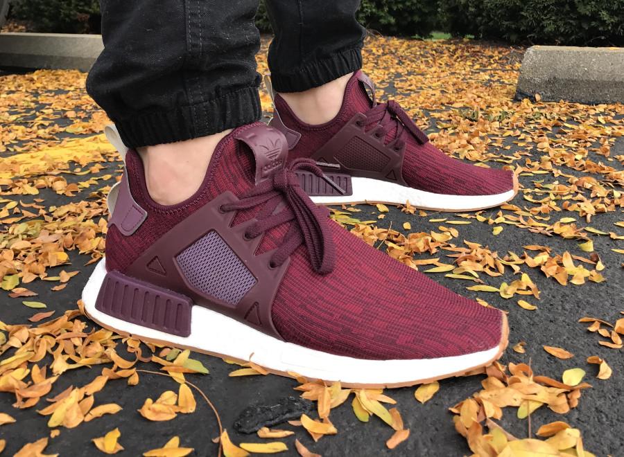 Adidas NMD XR1 Burgundy - @united1020