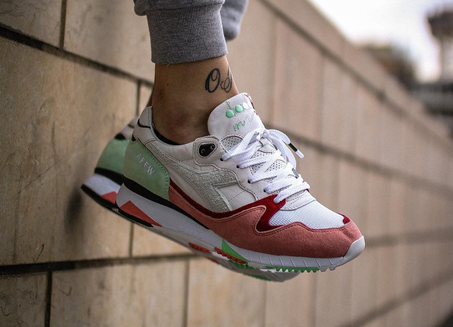 Afew x Diadora V7000 The Cure - @jotaese27