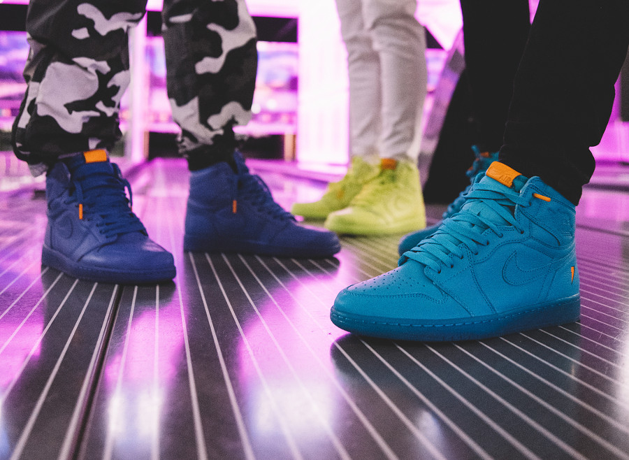 Le pack Air Jordan 1 High Retro 'Flavourways' Like Mike
