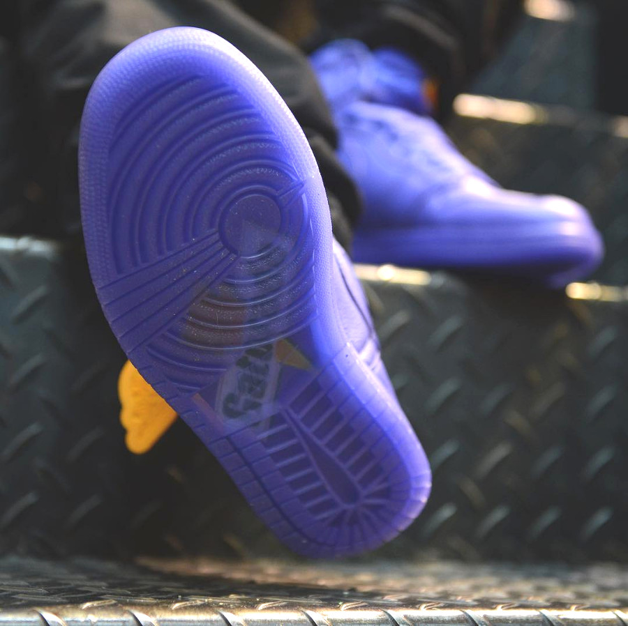 semelle transparente Air Jordan 1 High Retro Gatorade Grape Rush Violet AJ5997-555 (2)