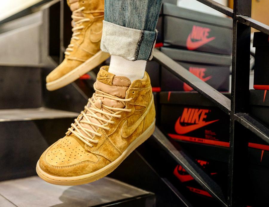 Air Jordan 1 High Retro Wheat - @estylistics