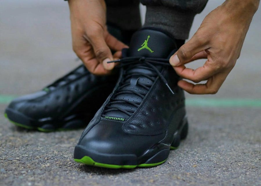 Air Jordan 13 Altitude Green - @jacquesoles