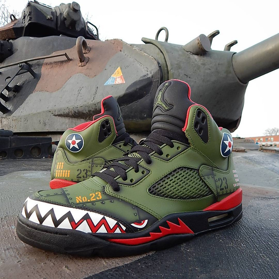 Air Jordan 5 Retro P-40 Warhawk (1)