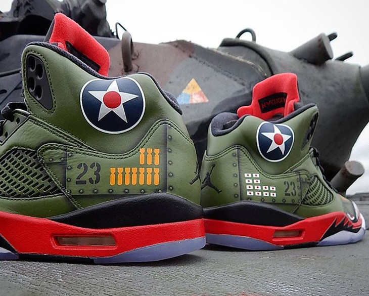 Air Jordan 5 Retro P-40 Warhawk (3)