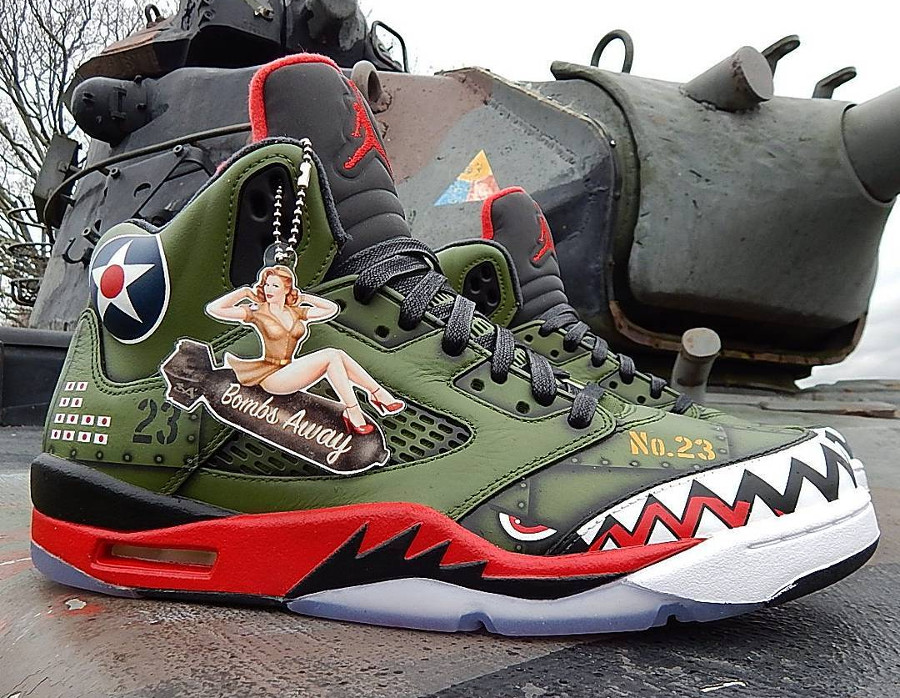 Air Jordan 5 Retro P-40 Warhawk (4)