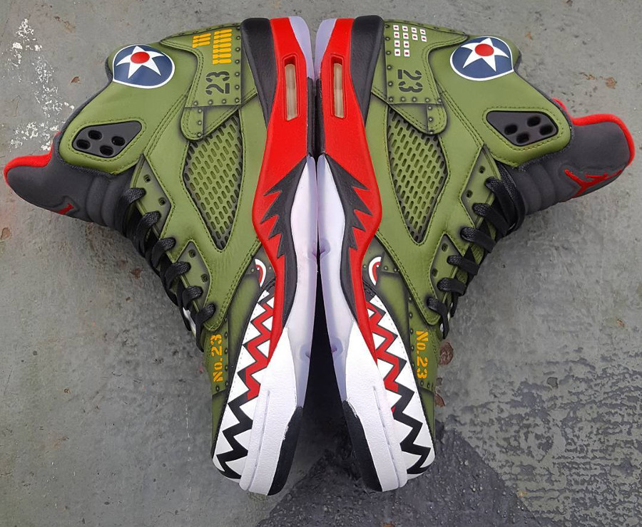 Air Jordan 5 Retro P-40 Warhawk (5)