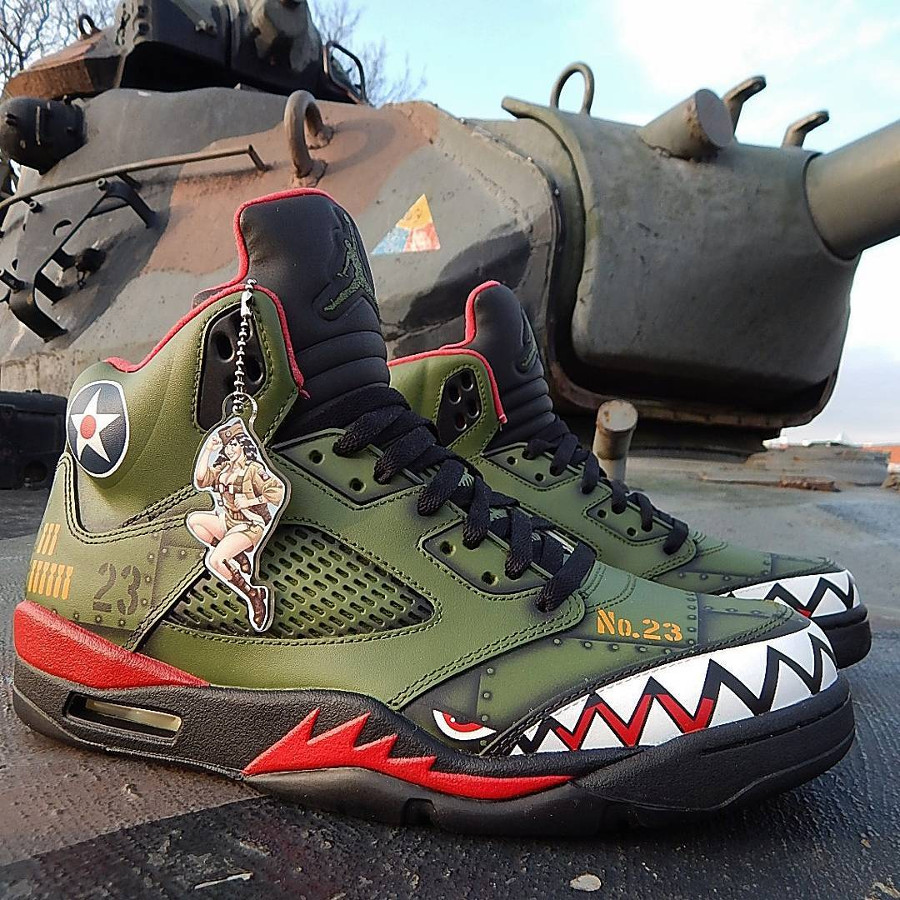 Air Jordan 5 Retro P-40 Warhawk (6)