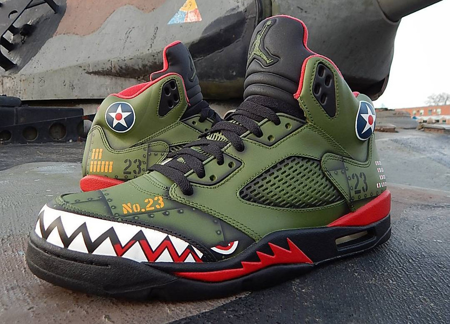 Air Jordan 5 Retro 'P-40 Warhawk'