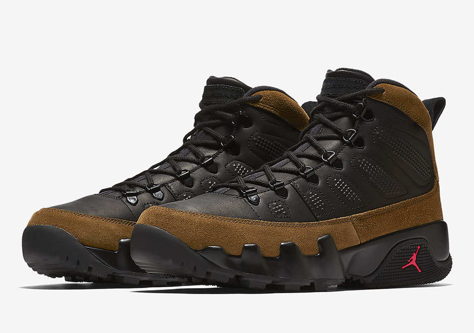 Air Jordan 9 Boot NRG Black Olive