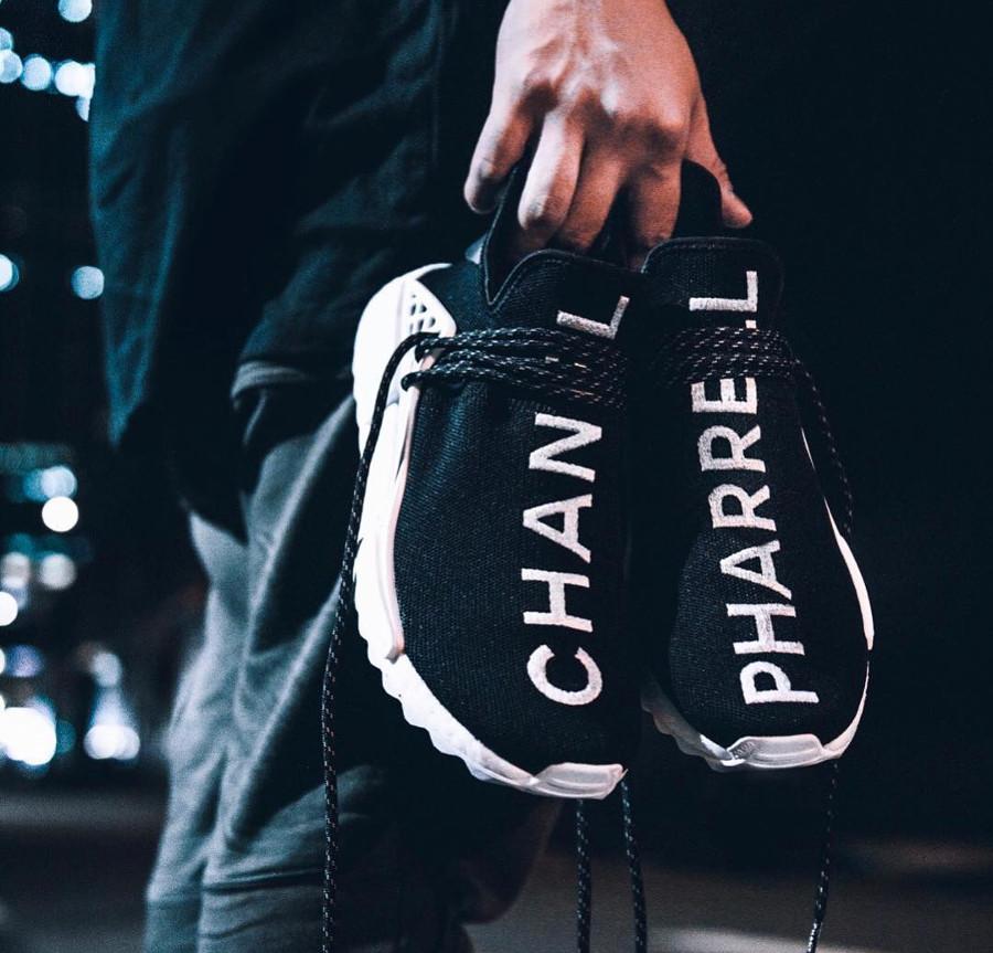 Chanel x Pharrell x Adidas NMD HU Trail - @abitgabriel
