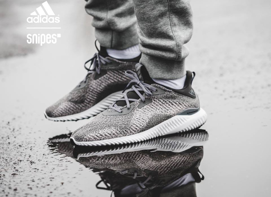 Adidas Alphabounce EM 'Grey Three'