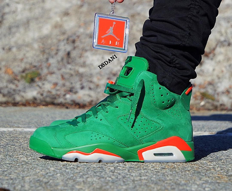 Air Jordan 6 Retro 'Be Like Mike' Pine Green