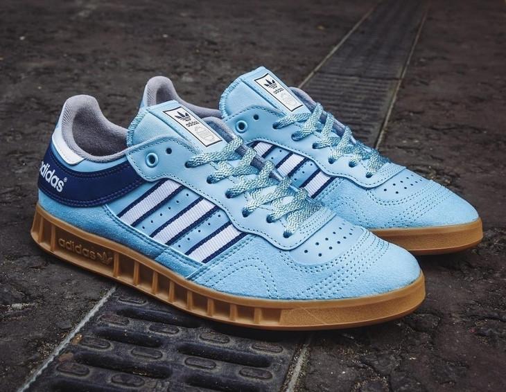 Chaussure Size x Adidas Handball Top Gum Argentina Blue