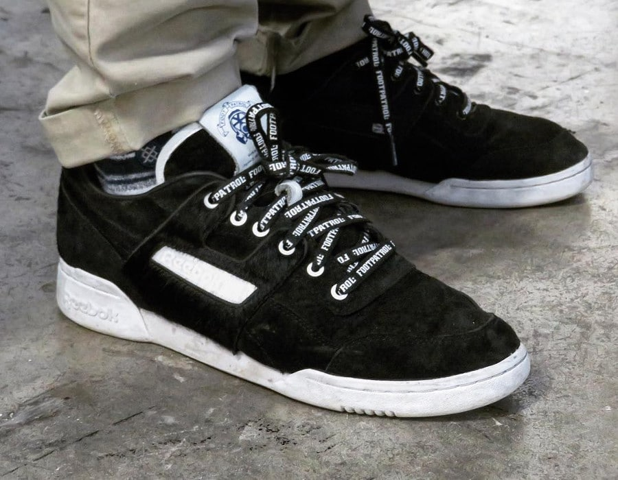 Footpatrol x Reebok Workout Lo Blackbuck - @kicks.london