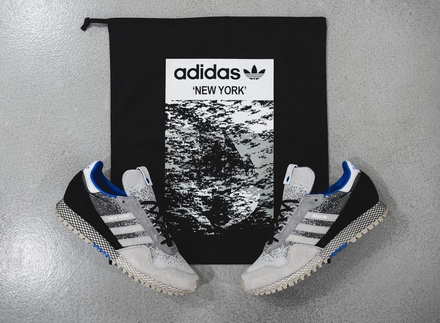 Hanon x Adidas Consortium New York Dark Storm