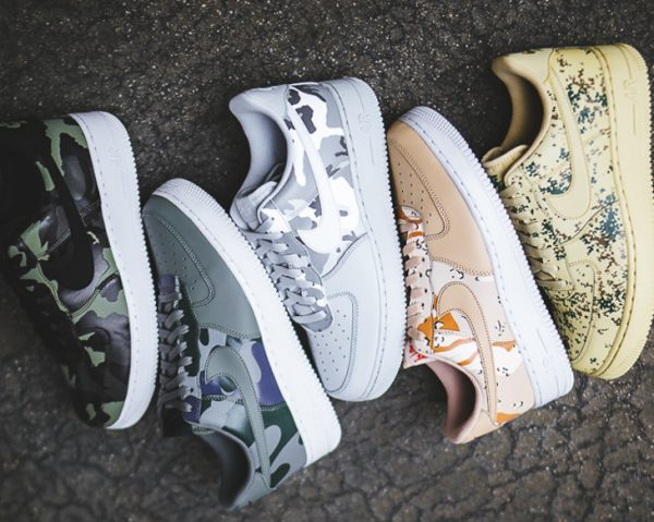 Le pack Nike Air Force 1 07 LV8 Country Camo