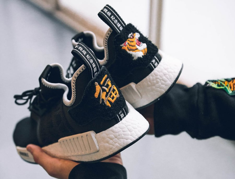 NEIGHBORHOOD x Invincible x adidas Consortium NMD R1