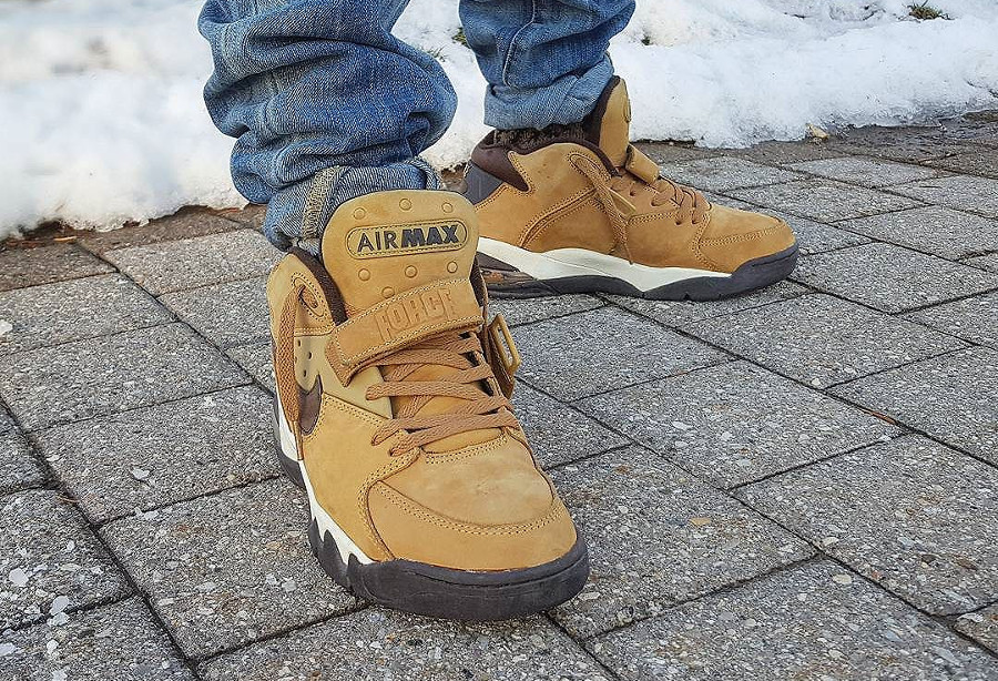 Nike Air Force Max Leather WP Wheat 2003 - @flippinlaces