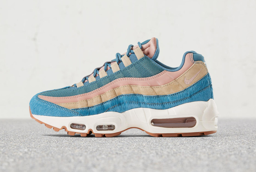 Nike Air Max 95 Embossed Fur Blue