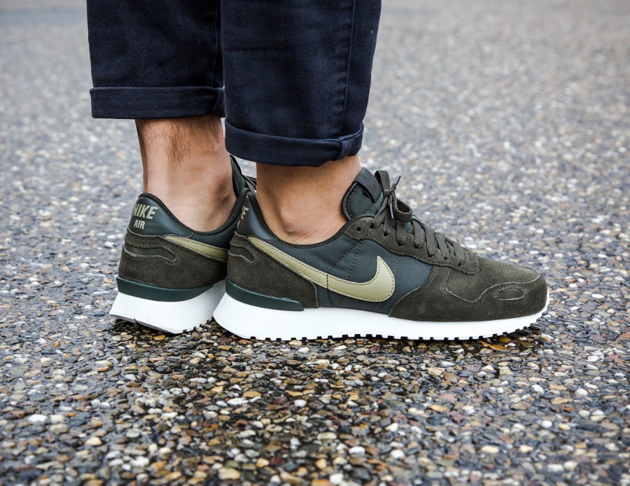 buy popular e4dcc 8aced Nike Air Vortex Leather Homme Sequoia Neutral Olive : comment l ...