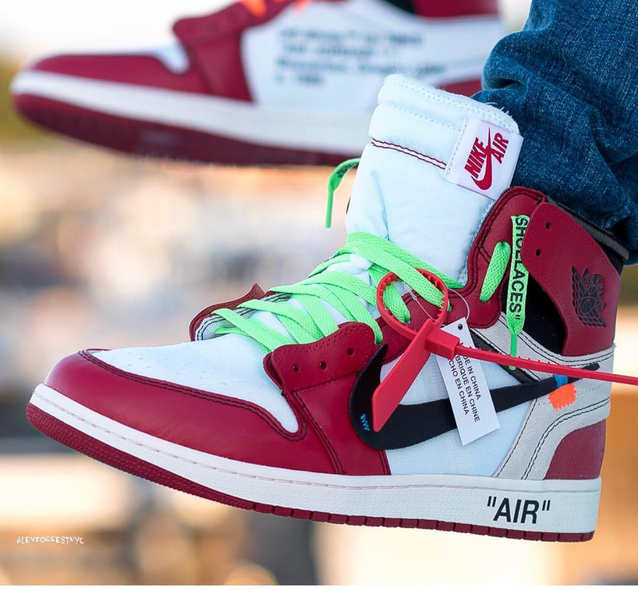Off White x Air Jordan 1 - @alexforrestnyc