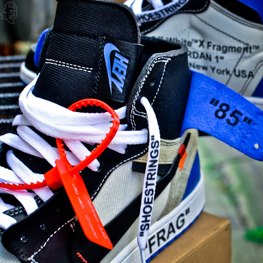 Off White x Air Jordan 1 High Retro Fragment (1)