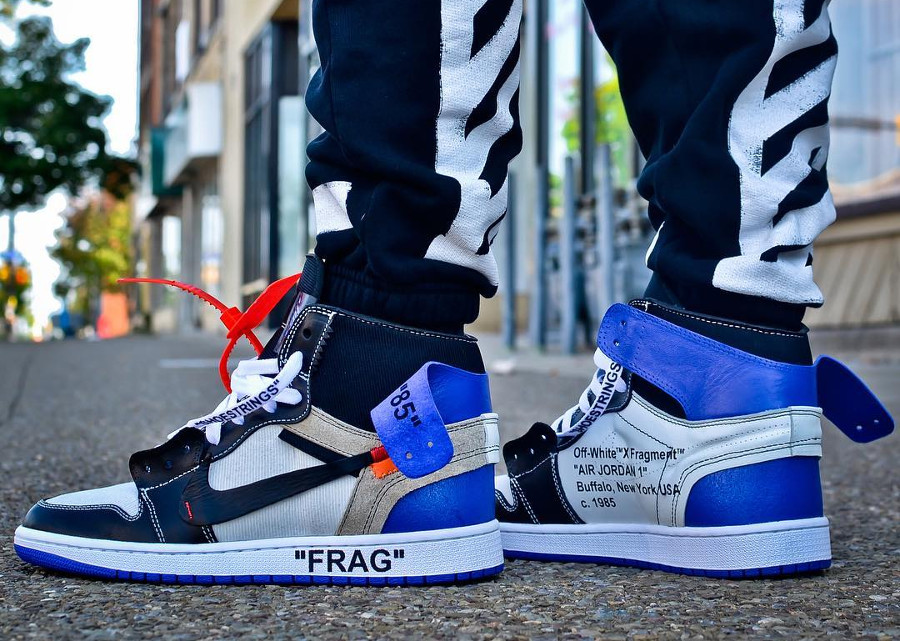 Off White x Air Jordan 1 High Retro Fragment (2)