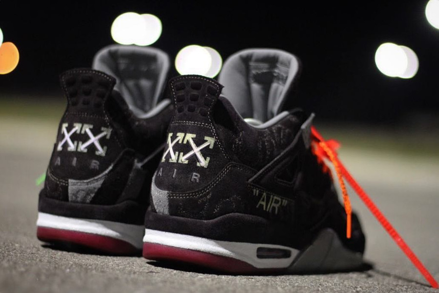 Off White x Kaws Air Jordan 4 Retro Bred (0)
