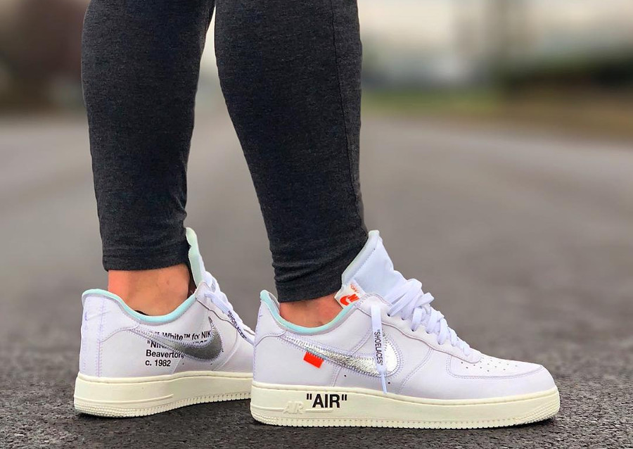 Off White x Nike Air Force 1 Low AF-100