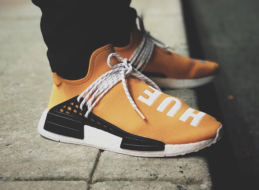 Pharrell Williams x Adidas NMD HU Hue Man - @notlaced