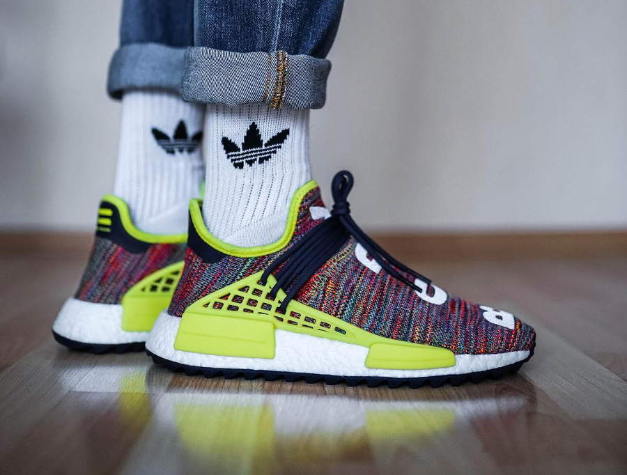 Pharrell x Adidas NMD HU TR Multicolor - @ttapreme