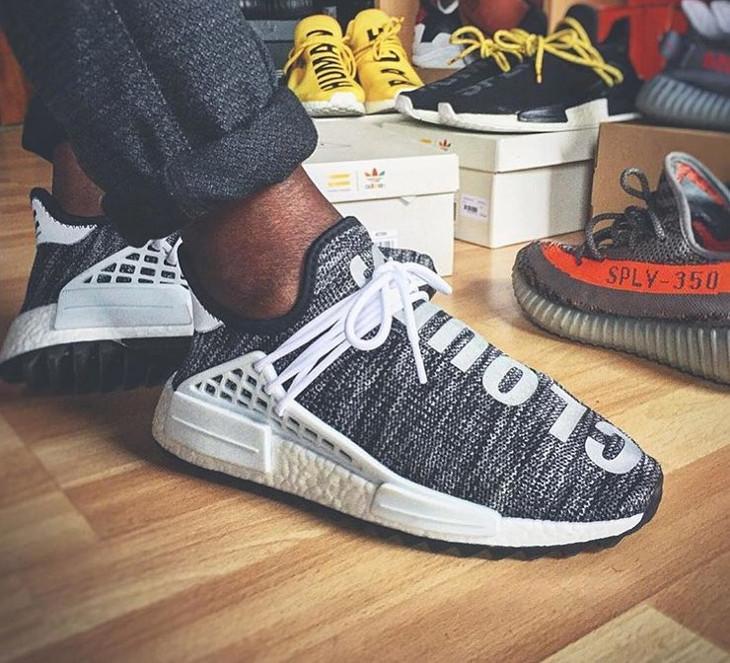 Pharrell x Adidas NMD HU TR Oreo- @yokickz