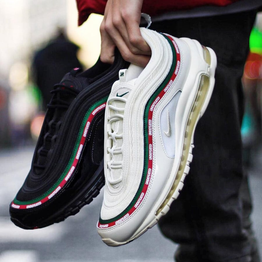 Undefeated x Nike Air Max 97 White Gucci