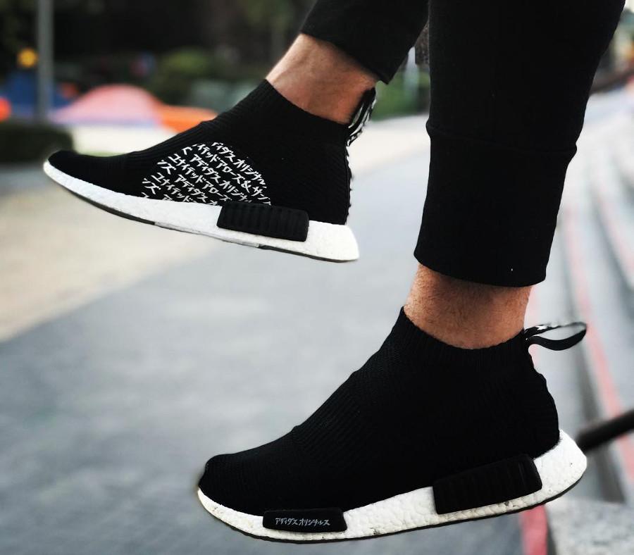 online retailer a5b87 49084 Comment porter la Adidas NMD R1 R2 XR1 CS1.... ?