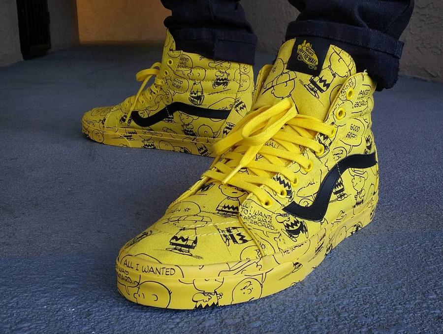 Vans-SK8-Hi-Charlie-Brown-@thefreshprinceofobc