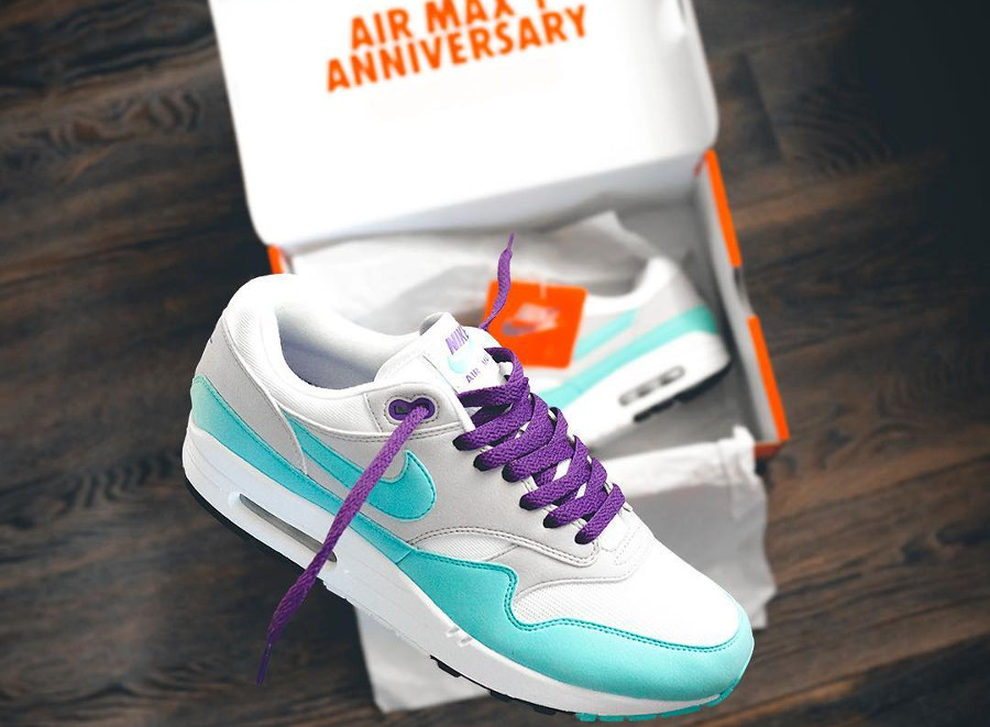 Nike Air Max 1 OG Anniversary 'Aqua/Purple'