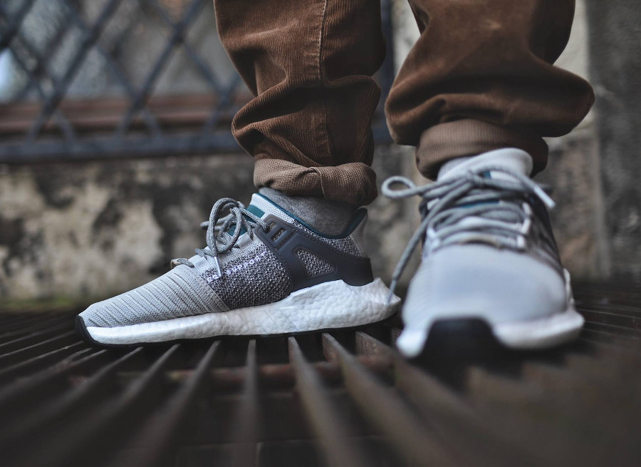 Adidas EQT Support 93/17 Welding Pack Grise Grey Two