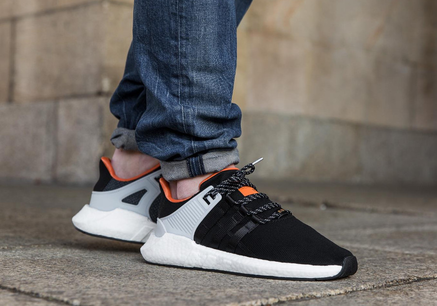 Adidas EQT Support 93/17 Welding Black Orange