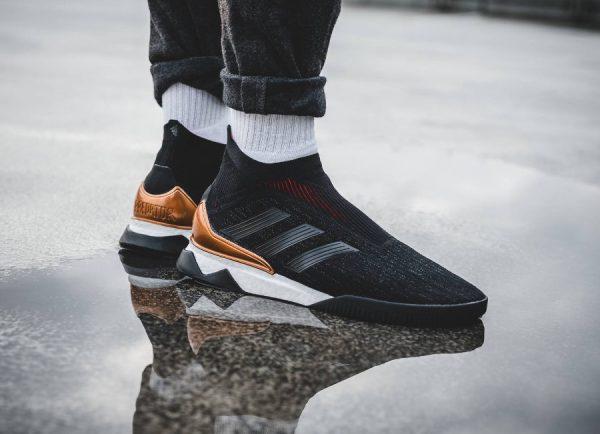 Adidas Predator Tango 18+ TR Boot PK 'Black Gold'