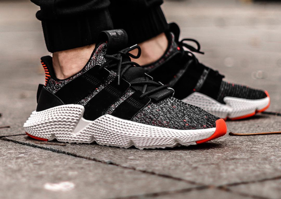 Adidas Prophere 'Black Solar Red'