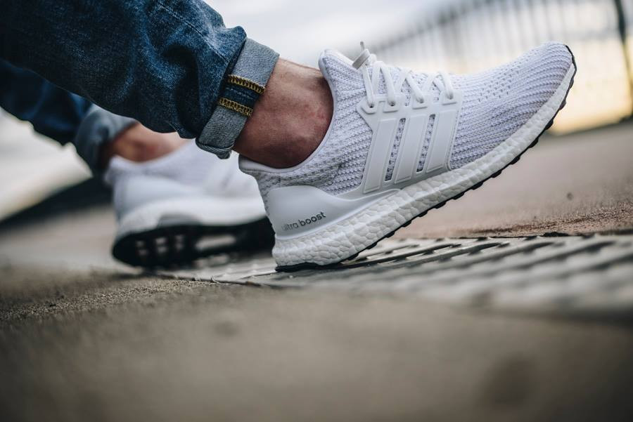 Adidas Ultra Boost 4.0 Primeknit 'Triple White'