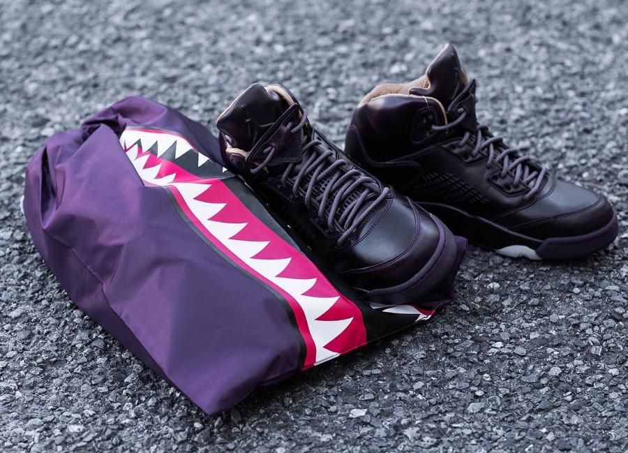chaussure-air-jordan-v-prm-bordeaux-element-gold-requin-881432 612 (1)