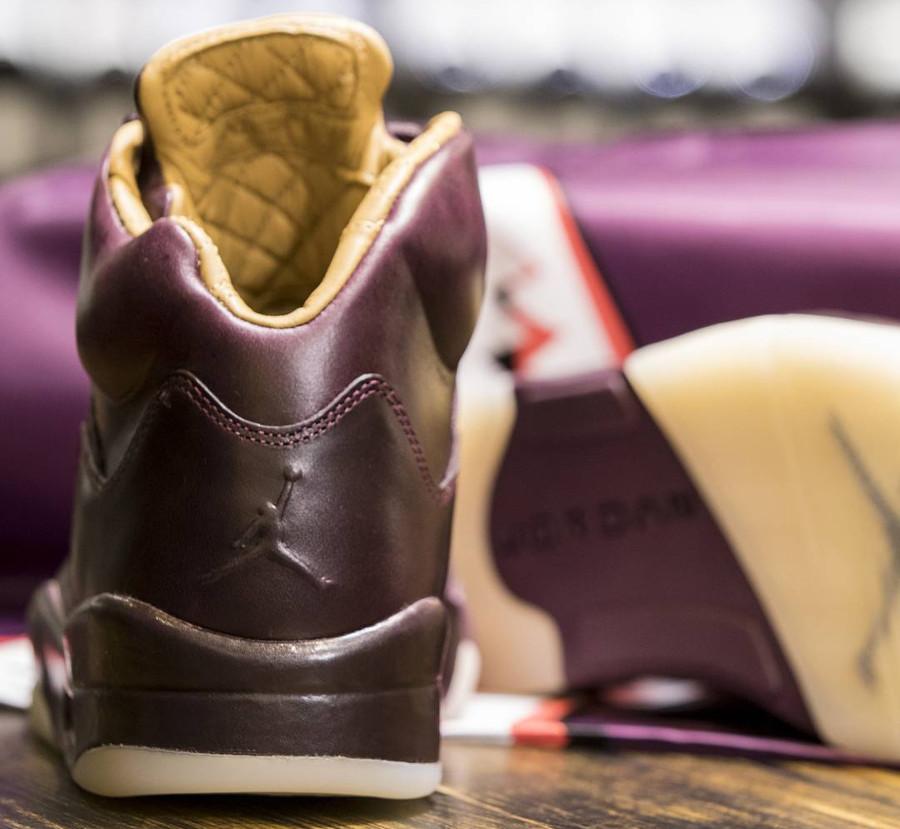 chaussure-air-jordan-v-prm-bordeaux-element-gold-requin-881432 612 (4)