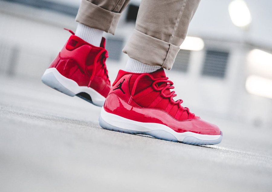 air jordan xi retro rouge