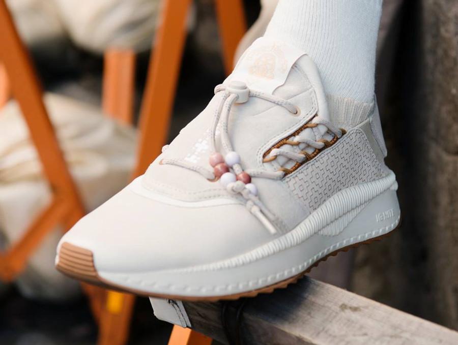 Chaussure Footpatrol x Puma Tsugi Shinsei Sashiko Birch Beige