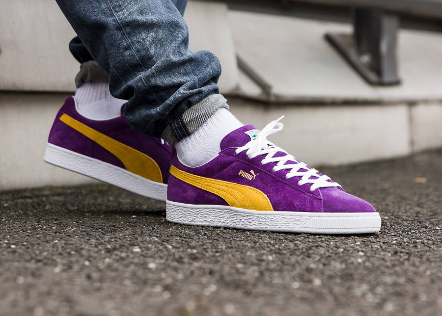 Puma Suede Classic MIJ The Collectors 'Heliotrope Spectra Yellow'