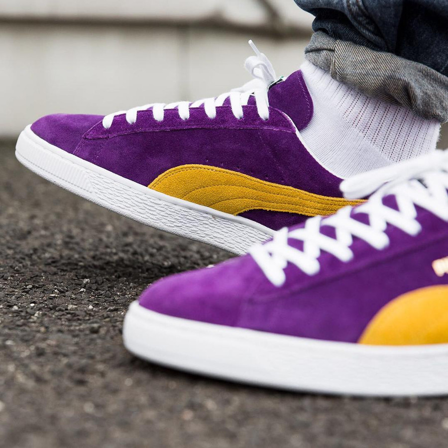 chaussure-puma-suede-lakers-made-in-japan-on-feet-50th-anniversary (3)