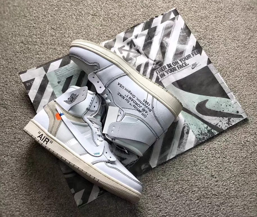 fausse off white air jordan 1 high retro blanche (2)